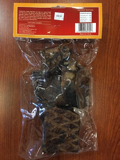 Smokehouse Pet Products Beef Crunchies Dog Treat Recall
