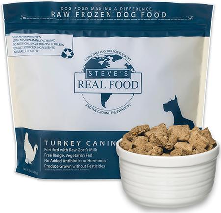 Steve's Real Food Recalls Raw Frozen Dog Food