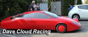 Img of Dave Cloud Electric Racing Car