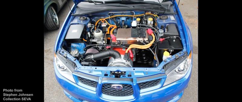 Img of an Electric Subaru EV Conversion