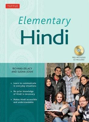 Elementary Hindi textbook by Richard Delacy and Sudha Joshi