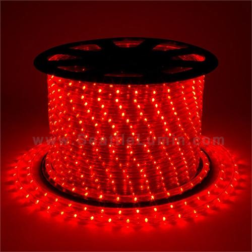 12 volt DC LED Rope light redyellow 1 meter segment
