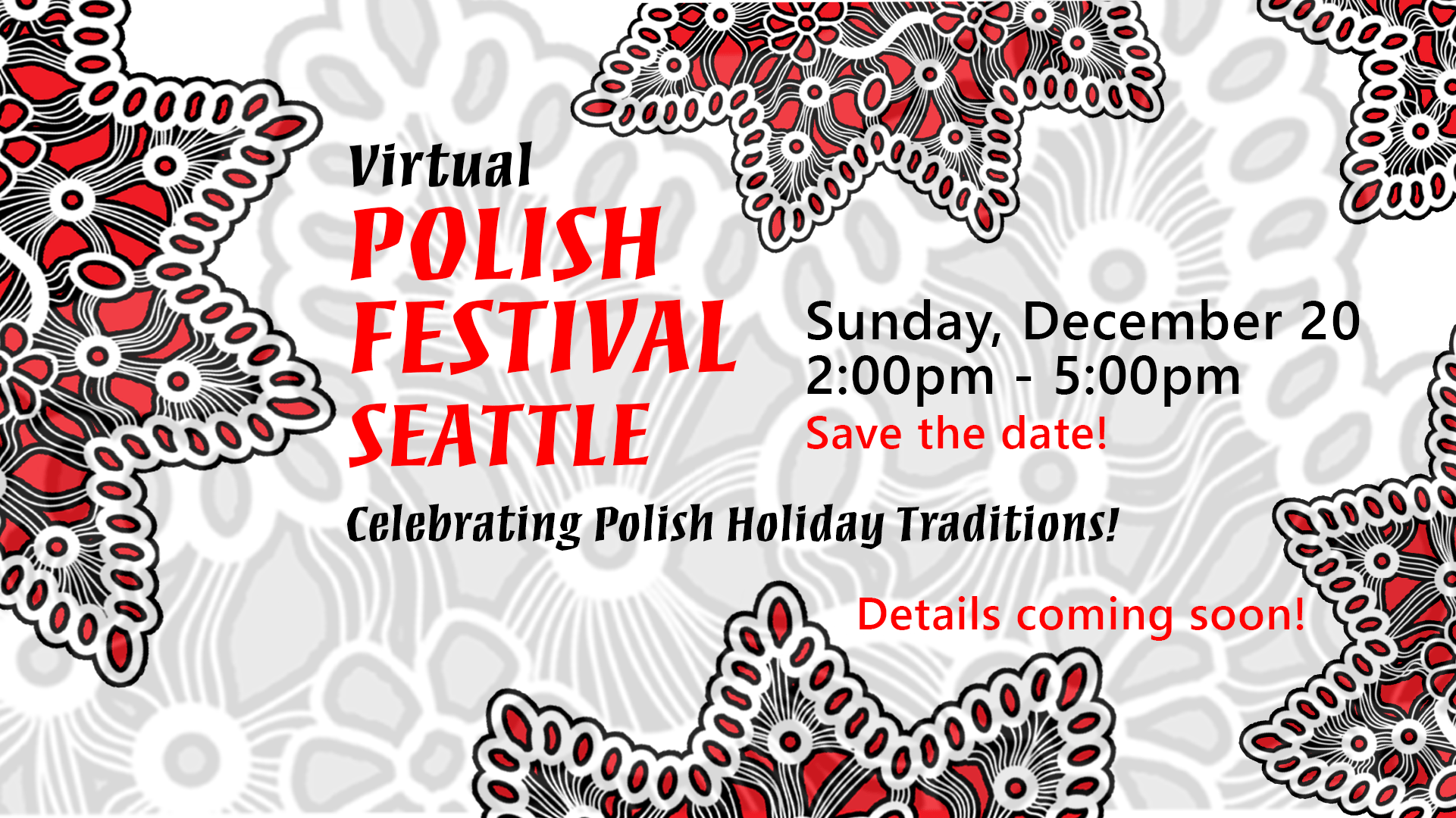Help with the Virtual Polish Festival Seattle Holiday Edition!