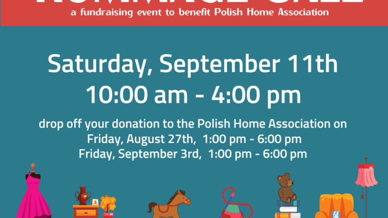 Rummage Sale at the Polish Cultural Center