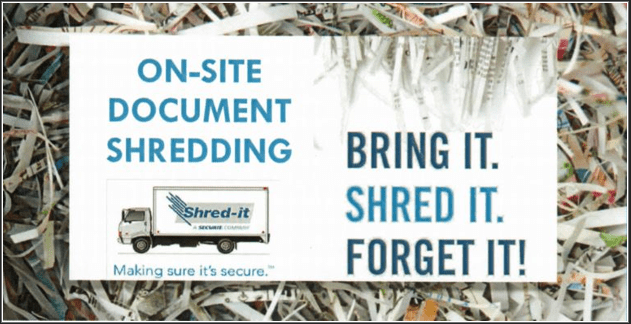 Parking Lot Shredding Event by PACC PNW