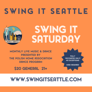 Swing It Saturday at the Polish Cultural Center