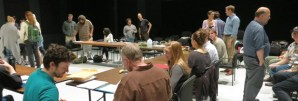 Antony and Cleopatra First Rehearsal
