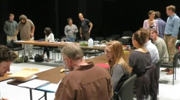 Podcast: First Rehearsal for Antony and Cleopatra