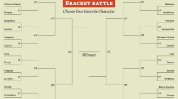 Vote for Your Favorite Character in Our Bracket Battle