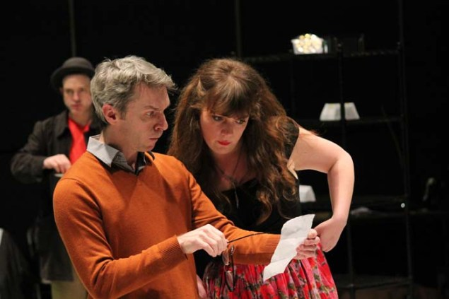 George Mount as Sir Nathaniel and Donna Wood as Jacquenetta.