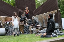 """The cast of Seattle Shakespeare Company's 2013 Wooden O production of """"The Tempest."""""""