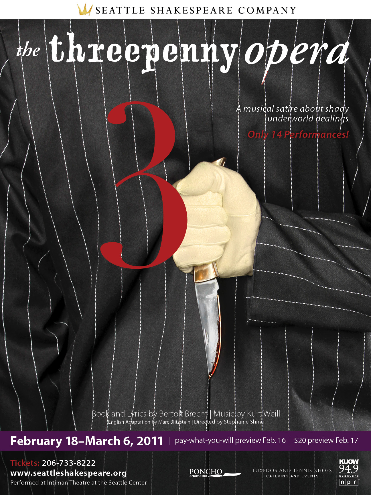 The Threepenny Opera poster