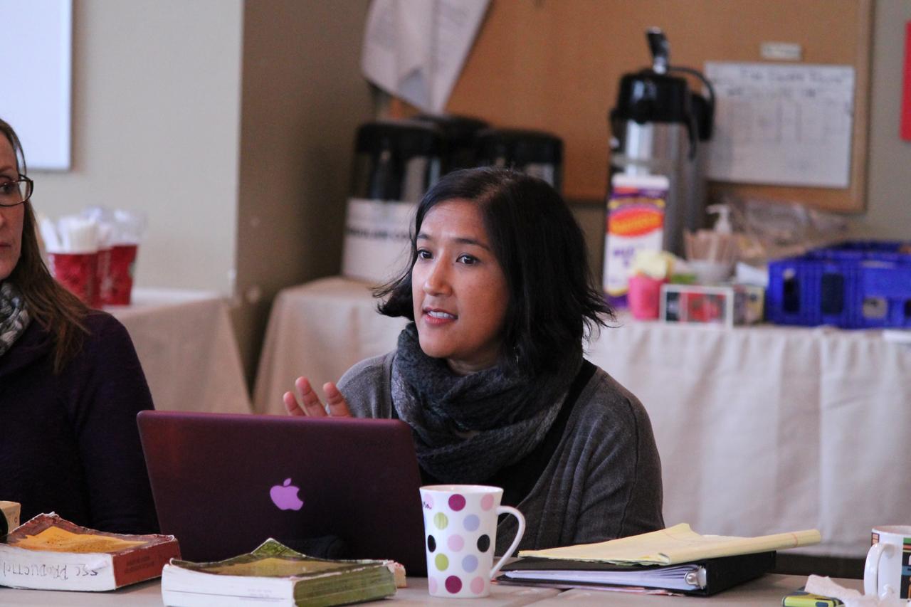 Director Rosa Joshi