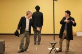 Darragh Kennan as Estragon and Chris Ensweiler as Pozzo