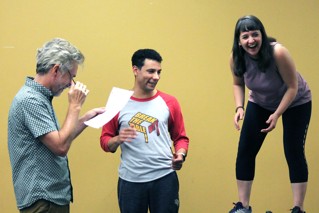 The Comedy of Errors (2021) Rehearsal