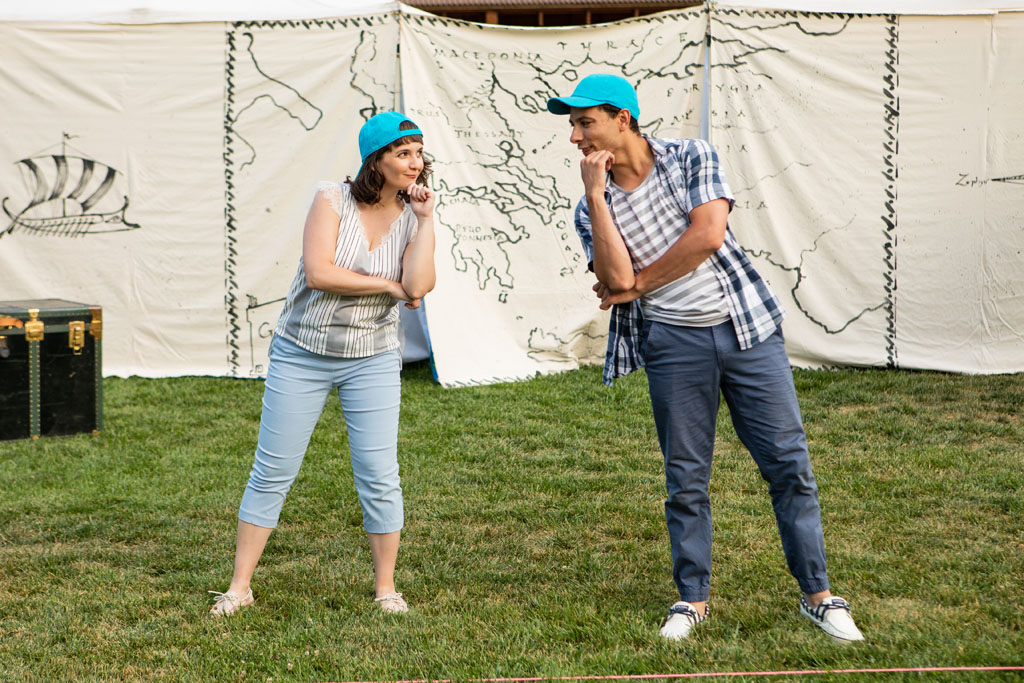 The Comedy of Errors in the park