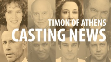 Casting News: Timon of Athens