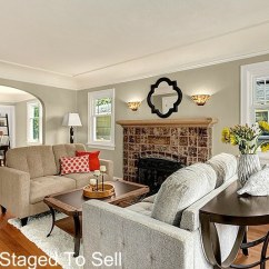Staging A Living Room Pottery Barn Style Ideas Seattle House With Old Charm Green Lake Staged