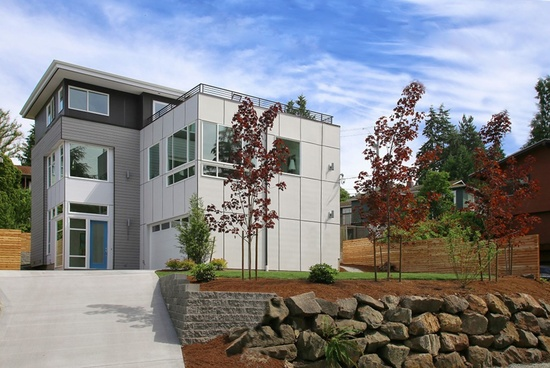 Broadview Modern House Seattle Staged to Sell Real