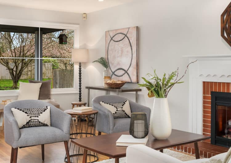 staging a living room furniture packages with tv spotlight hip wedgwood midcentury home ssts blog s staged in seattle