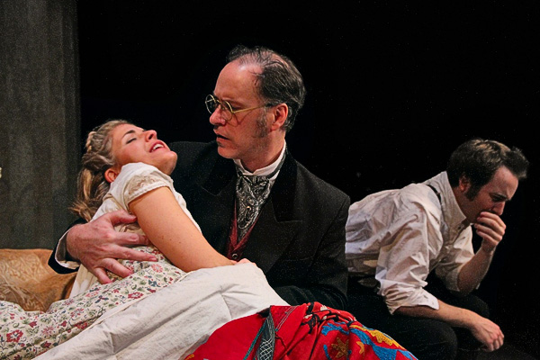 Book-It Theatre's production of Anna Karenina, directed by Mary Machala.