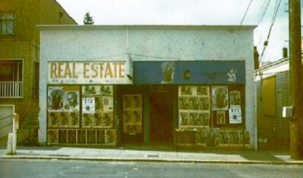 The original Seattle Black Panther Party headquarters in the Central Area
