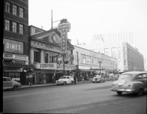 Colonial Theater, 1948. Photo from Seattle Municipal Archives.