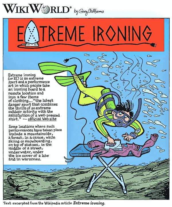 extreme-ironing