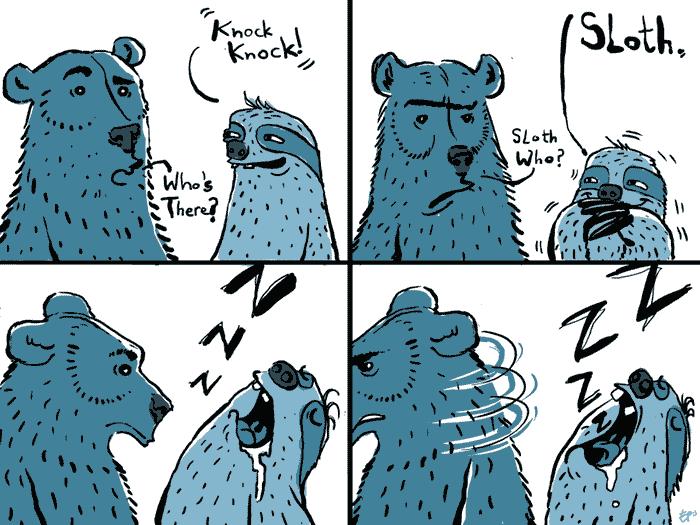 sloth+bear