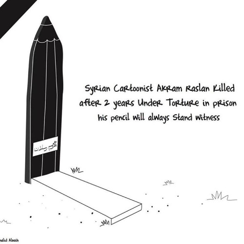 Khartoon-RIP_Akram_Raslan