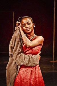 Nonhlanhla Kheswa in Peter Brook's The Suit. Photo: Johan Persson.