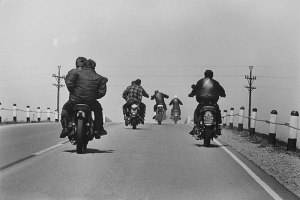 Wisconsin, 1965. Route 12. Photo © Danny Lyon.
