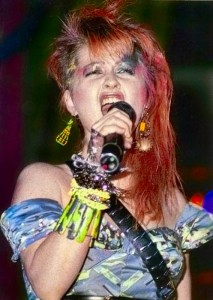 Ms. Lauper in 1984.