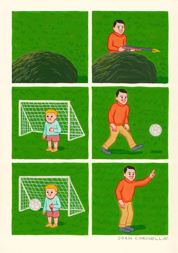 cornella goal