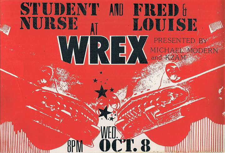 WREX poster from 1980 Helena Rogers