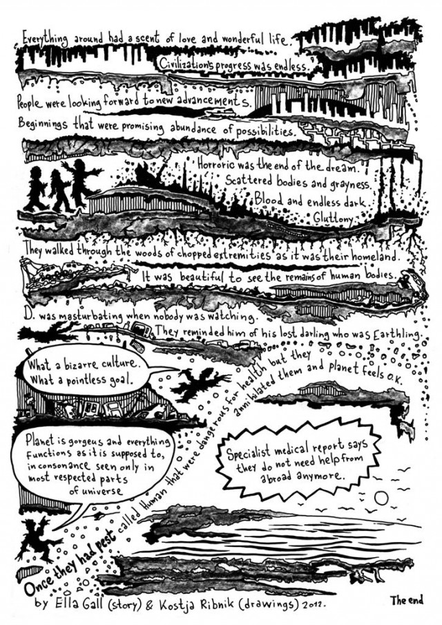 Once They Had Pest by Ella Gall & Kostja Ribnik 2012