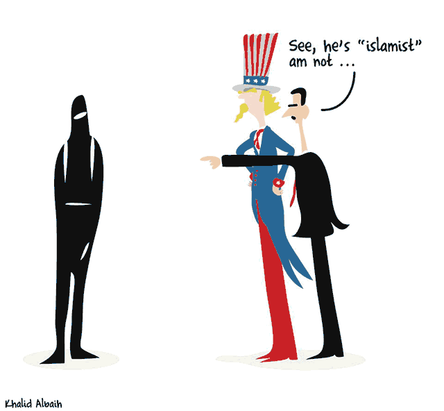 khartoon-assad+isis