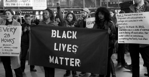 2014 saw civil rights protests sweep the nation under the banner Black Lives Matter. Photo: Tina Leggio