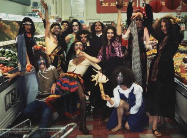 Kidz in the supermarket, circa 1975Steve Meltzer