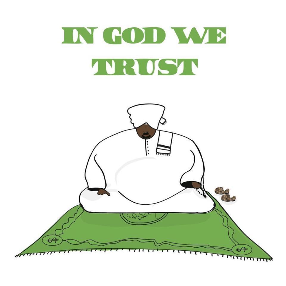 khartoon-in god we trust