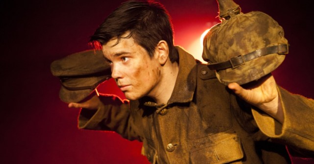 Alex Gwyther as Pvt. James Boyce. Photo: Pamela Raith