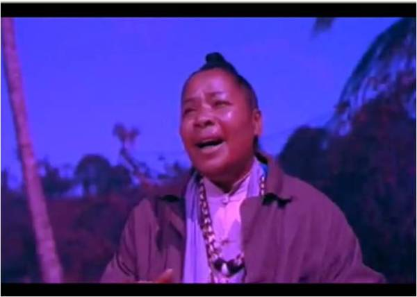 """Juanita Hill, who played """"Bloody Mary"""" in the film of Rodgers and Hammerstein's """"South Pacific"""", singing """"Bali Hai""""!"""