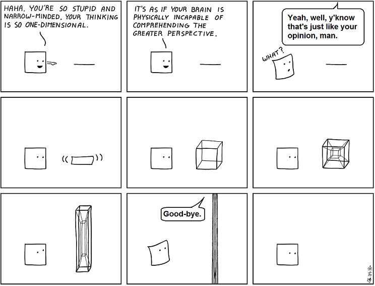 a_romance_in_n_dimensions