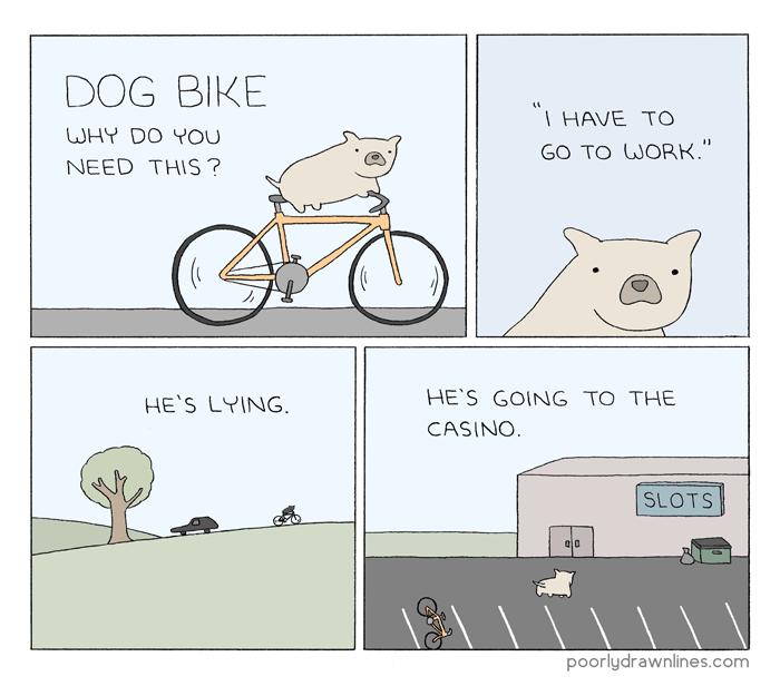dog-bike