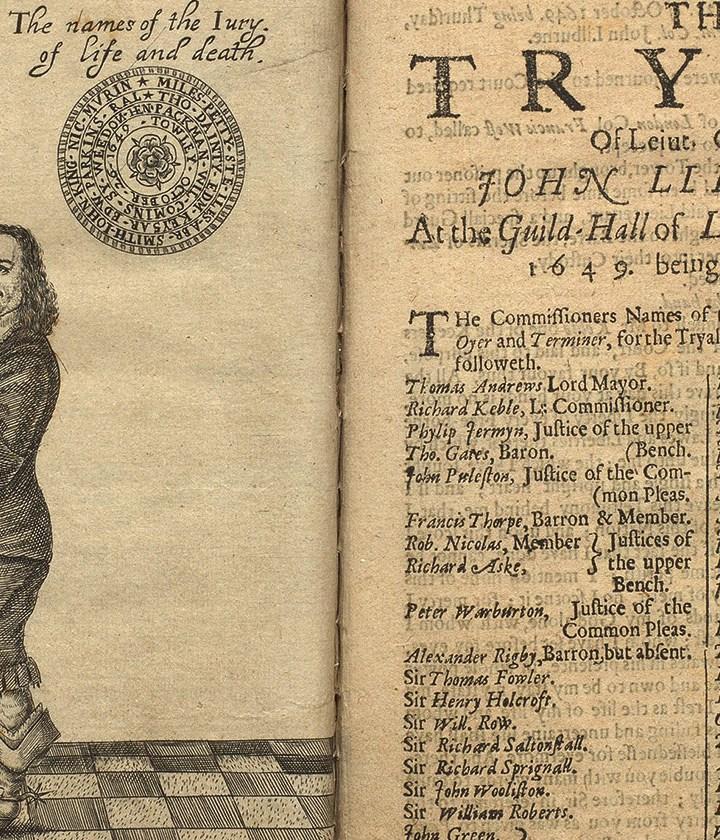 The People vs Tyranny: The Secular Martyrdom of John Lilburne