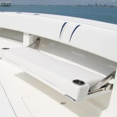 Boat Chairs Folding Deck Chair Cover Hire Lincoln Center Consoles 370z Details Seavee Boats
