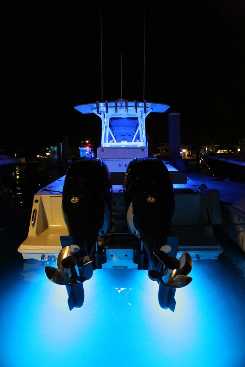 medium resolution of under gunnel lighting led under water light