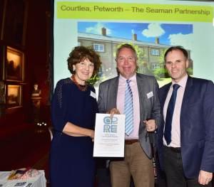 Award for a Seaward Development
