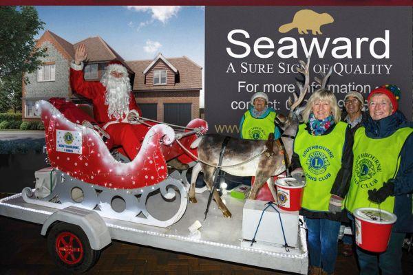 Santa in Southbourne