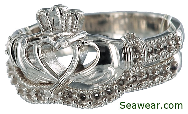 Claddagh Wedding Set